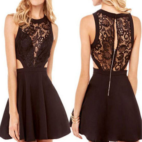 Black off shoulder lace unique style sexy formal homecoming prom dress,BD0033 - SofitBridal