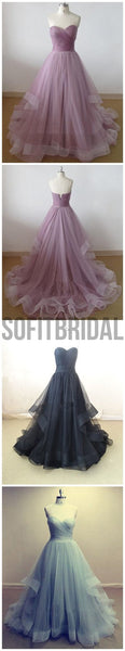 Lilac Prom Dress,Sweetheart Prom Dress,A-line Dress ,Cheap Prom Dress,Party Prom Dresses ,Evening Dresses,Long Organza Prom Dress,Prom Dresses Online,PD0125 - SofitBridal