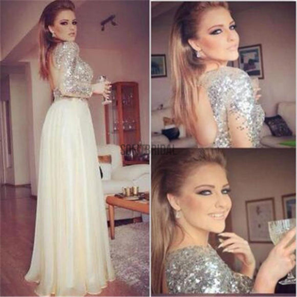 Long Sleeves Prom Dresses, Sequined Prom Dresses, Open Back Prom Dresses, Cheap Prom Dresses, Party Dresses, Cocktail Prom Dresses, Evening Dresses, Long Prom Dress, Prom Dresses Online, PD0172 - SofitBridal