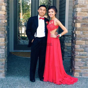 Long Prom Dresses, Red Prom Dresses, Cheap Prom Dresses, Backless Prom Dresses, Custom Elegant Prom Dresses, Evening dresses, PD0033 - SofitBridal