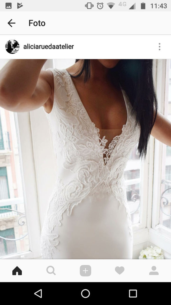 Custom link for NATACHA LE ROUX-short dress - SofitBridal