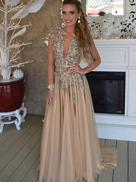 Dark Champagne Dress