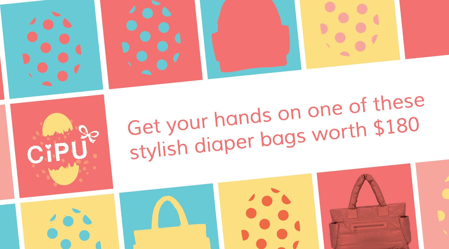 Exclusive Easter Diaper Bag Giveaway
