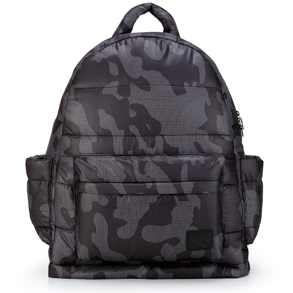 Backpack Baby Diaper Bag - Black Camouflage XL