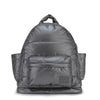 Backpack Baby Diaper Bag - Metallic Gray M