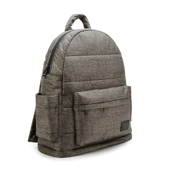Backpack Baby Diaper Bag - Heather Gray XL