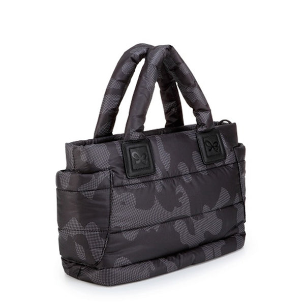 Tote Baby Diaper Bag - Black Camouflage M