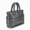 Tote Baby Diaper Bag - Metallic Gray XL