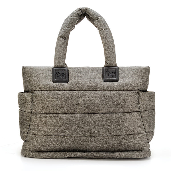Tote Baby Diaper Bag - Heather Gray XL