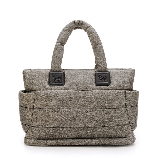 Tote Baby Diaper Bag - Heather Gray L