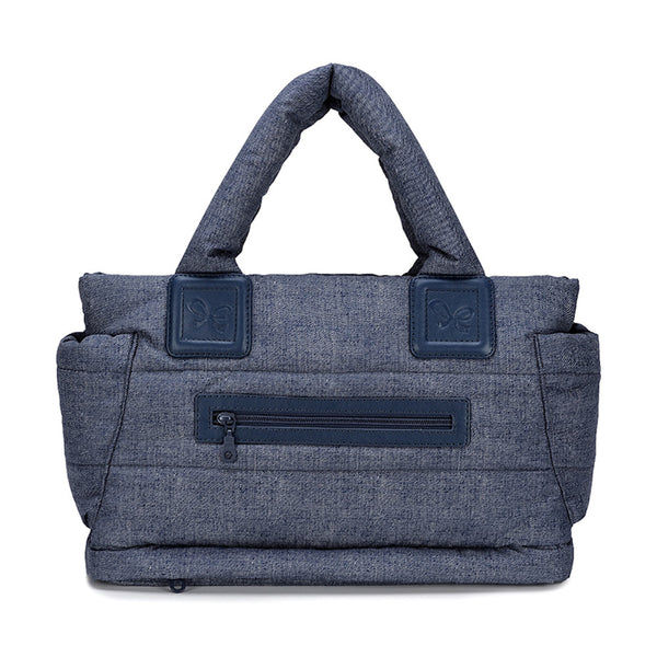 Tote Baby Diaper Bag - Navy M