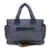 Tote Baby Diaper Bag - Navy L