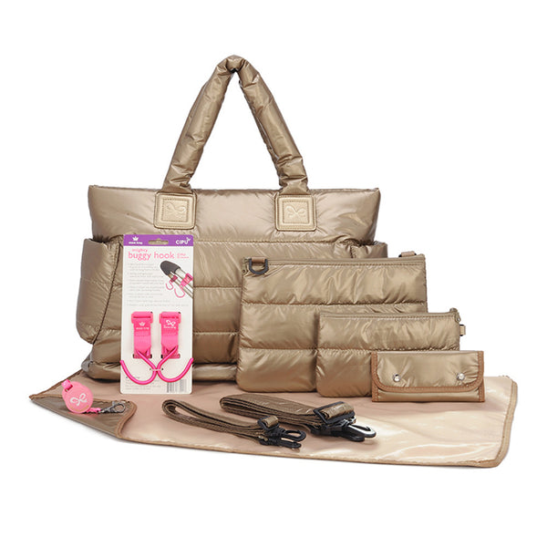 Tote Baby Diaper Bag - Exclusive Gold L