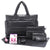 Tote Baby Diaper Bag - Black XL
