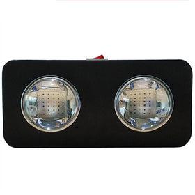 COB LED grow light-2 spots