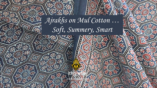 Ajrakh on Mul Cotton