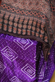 Purple Passion Bandhini Ajrakh