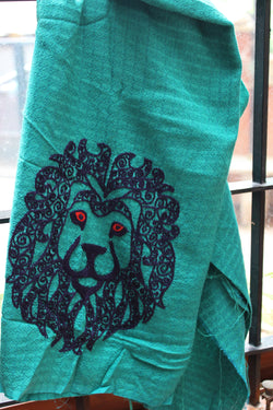Leo Essentials - Blouse Length - Tangy Teal Leo