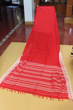 Sensible Summer Sarees - Red and White