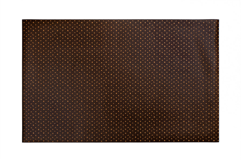 POLKA BLACK DOTS PATTERN RUG - Currently out of stock!