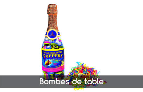 Bombes de table