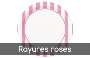 Rayures roses
