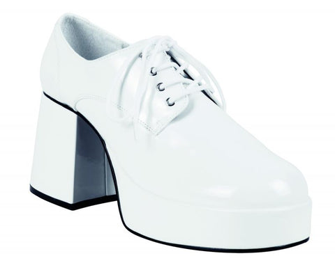 chaussures compensées blanches
