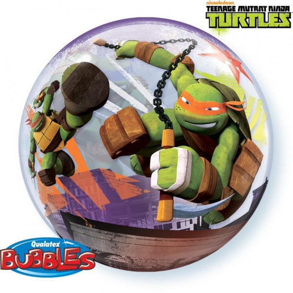 bubble tortues ninja