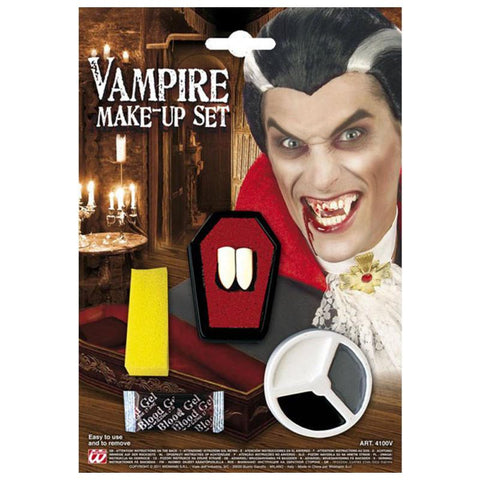 maquillage kit vampire + dents