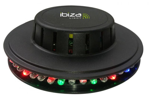 led ufo light -   noir