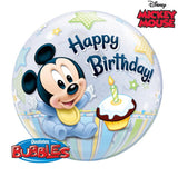 bubble mickey 1 an