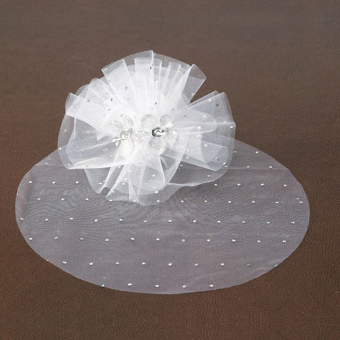10 ronds de tulle strass