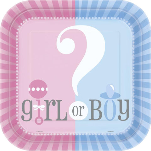 8 assiettes boy or girl
