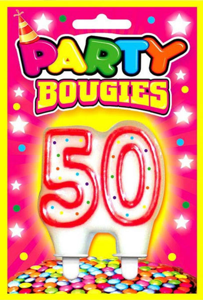 bougie 50 ans