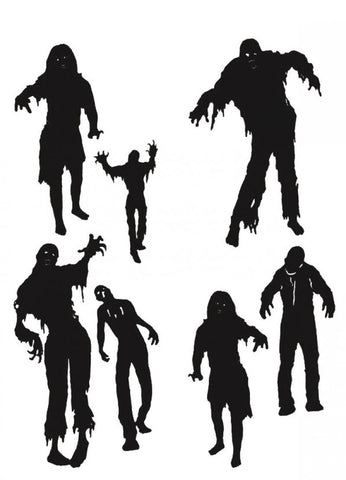 stickers ombres zombies