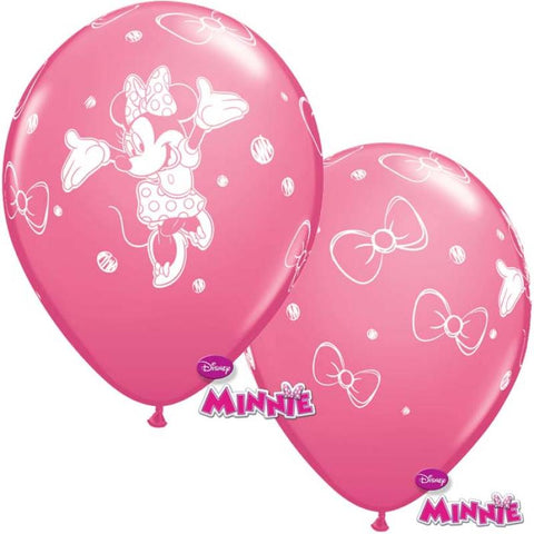 6 ballons minnie