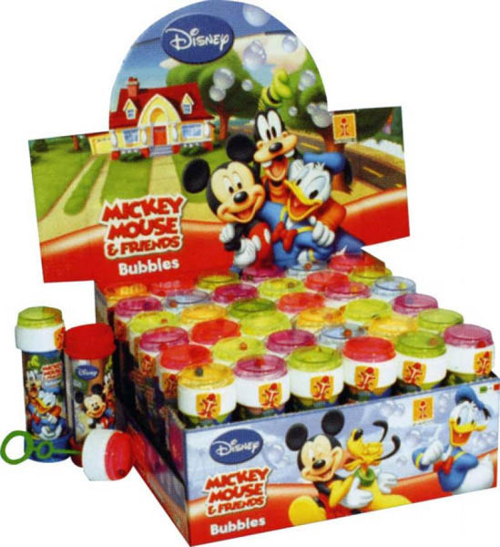 bulles savon mickey mouse