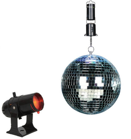 set disco light