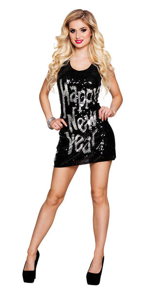 Déguisement robe happy new year femme