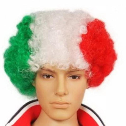 perruque supporter italie