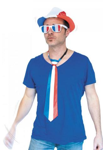 cravate supporter france