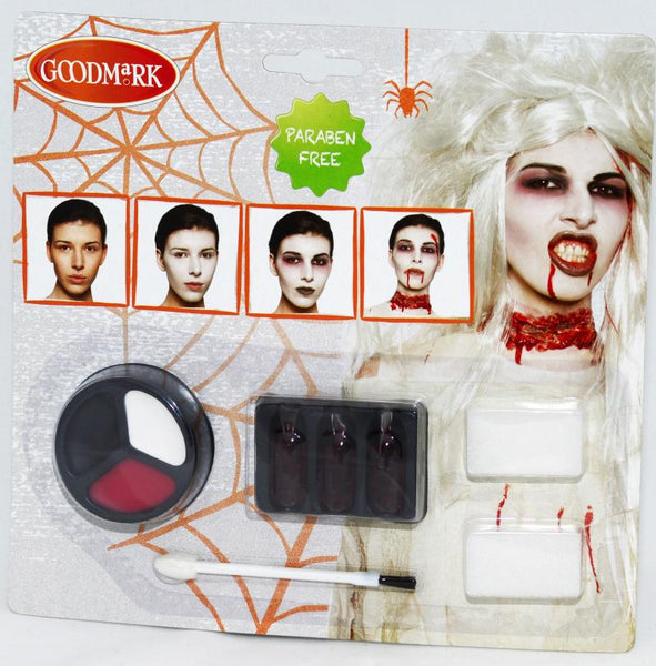 maquillage kit zombie femme