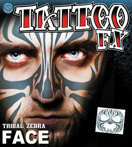 tatouage visage tribal