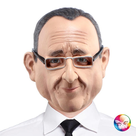 masque françois hollande latex