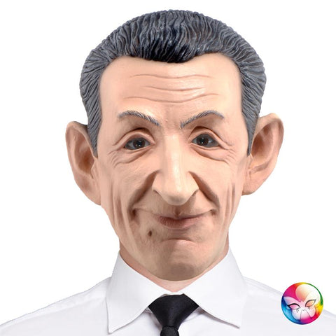 masque nicolas sarkozy latex
