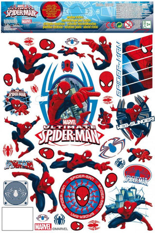 stickers Noël - Spiderman