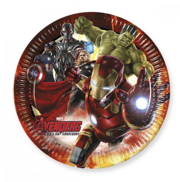 8 assiettes avengers age of ultron