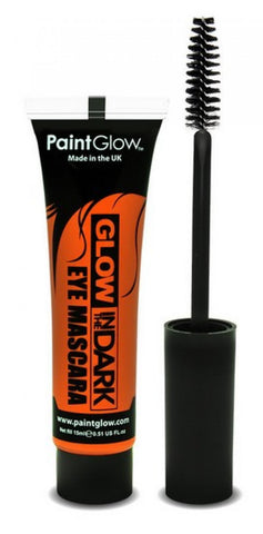 mascara cheveux phosphorescent orange