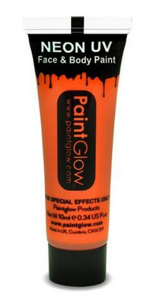 tube maquillage uv orange