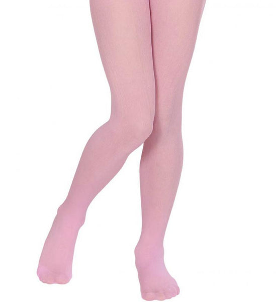 collants enfant rose
